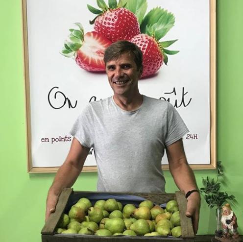 Producteur Bio d'Île de France, producteur de poires pour Bio Culture - Les paniers bio issus de l'agriculture biologique