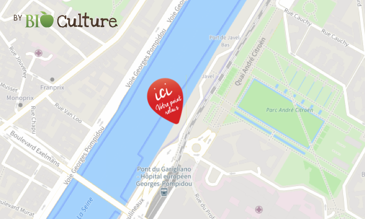 Point relais de Bio Culture - Les paniers Bio à Paris. Un nouveau point relais à Paris, pour Bio Culture - Les paniers bio